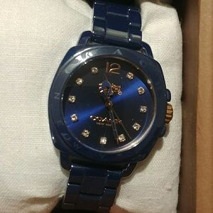 Navy blue coach watch!